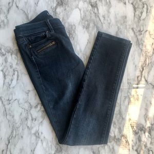 Ann Taylor LOFT • Modern Skinny Dark Denim Jeans